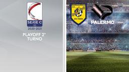 Juve Stabia - Palermo. Playoff 2° turno