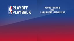2020: LA Clippers - Mavericks. Round 1 Game 6