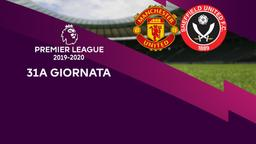 Man Utd - Sheffield United. 31a g.