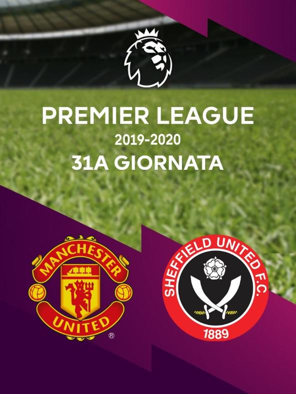 Man Utd - Sheffield United. 31a g.