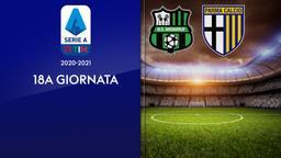 Sassuolo - Parma. 18a g.
