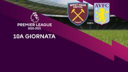 West Ham United - Aston Villa. 10a g.