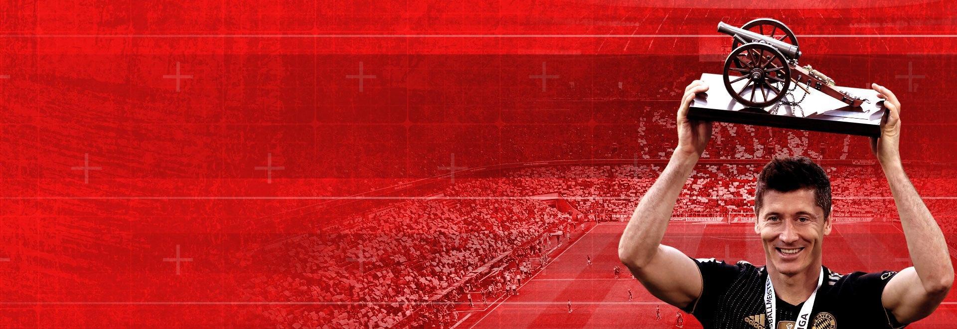 Lewandowski, l'uomo dei record