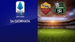 Roma - Sassuolo. 3a g.
