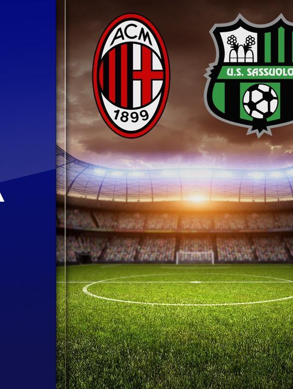 Milan - Sassuolo. 32a g.