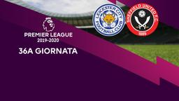 Leicester City - Sheffield United. 36a g.