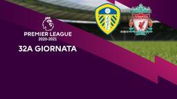 Leeds - Liverpool. 32a g.