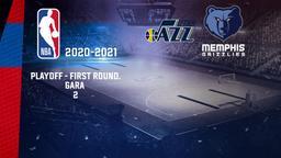 Utah - Memphis. Playoff - First Round. Gara 2