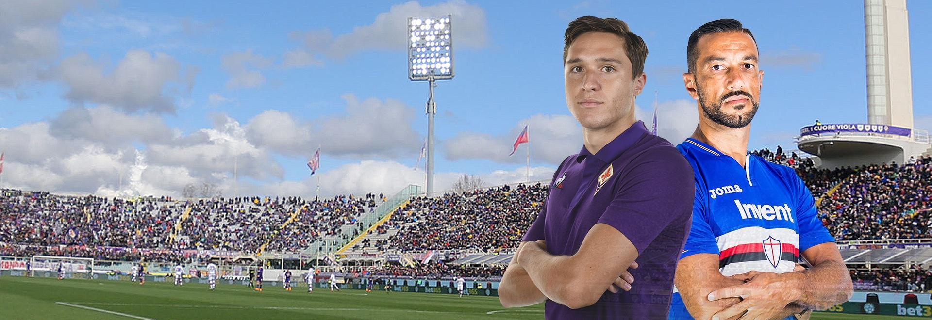 Fiorentina - Sampdoria. 20a g.