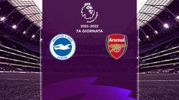 Brighton & Hove Albion - Arsenal