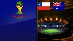 Cile - Australia. Gruppo B. 1a giornata