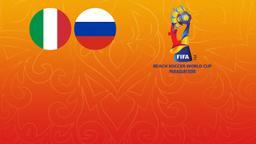 Italia - Russia. 1a Semifinale