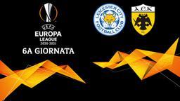 Leicester City - AEK Atene. 6a g.