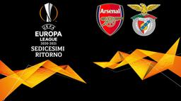 Arsenal - Benfica. Sedicesimi Ritorno