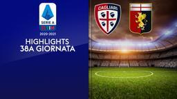 Cagliari - Genoa. 38a g.