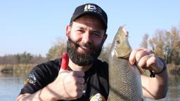 Barbelfishing sul grande fiume