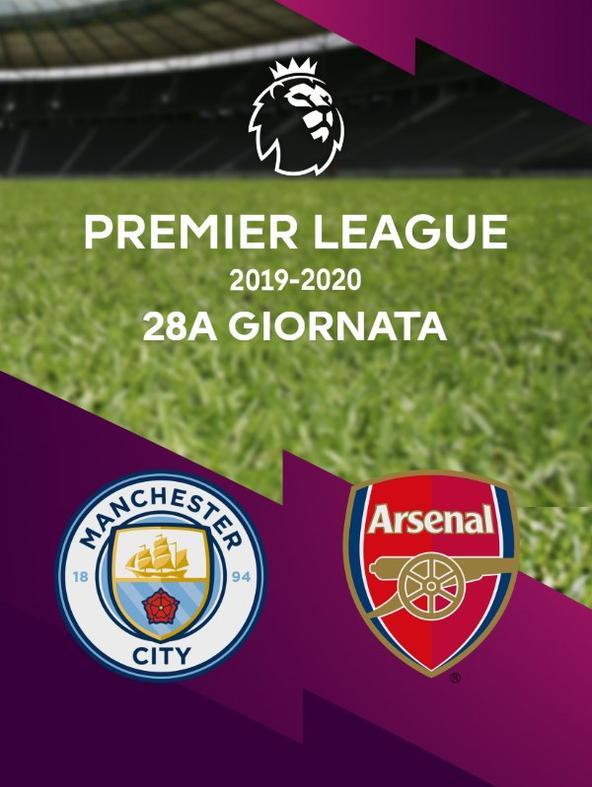 Man City - Arsenal   (diretta)