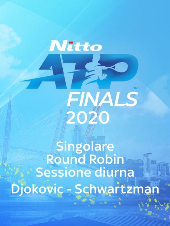 Djokovic - Schwartzman. Singolare. Round Robin. Sessione diurna