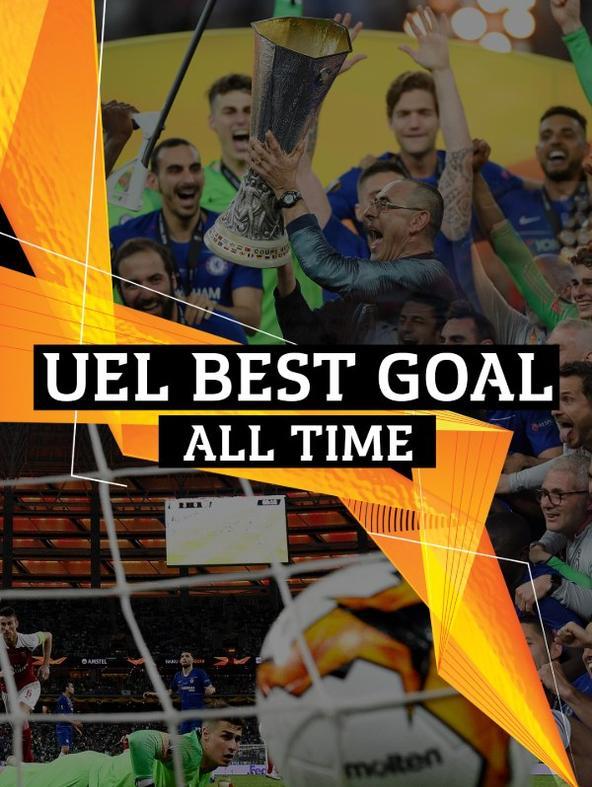 Europa League Best Goal All Time