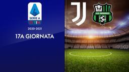 Juventus - Sassuolo. 17a g.