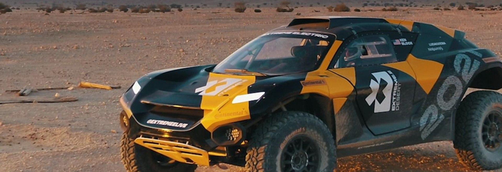Desert X-Prix. Arabia Saudita. Anteprima