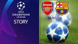 Arsenal - Barcellona 31/03/10