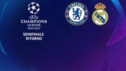 Chelsea - Real Madrid. Semifinale Ritorno