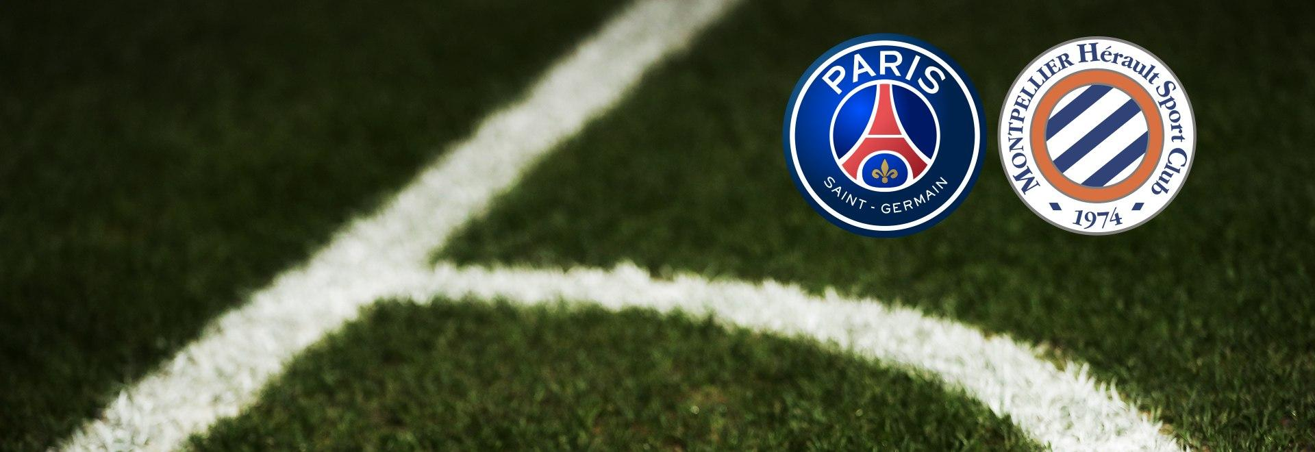 PSG - Montpellier. 22a g.
