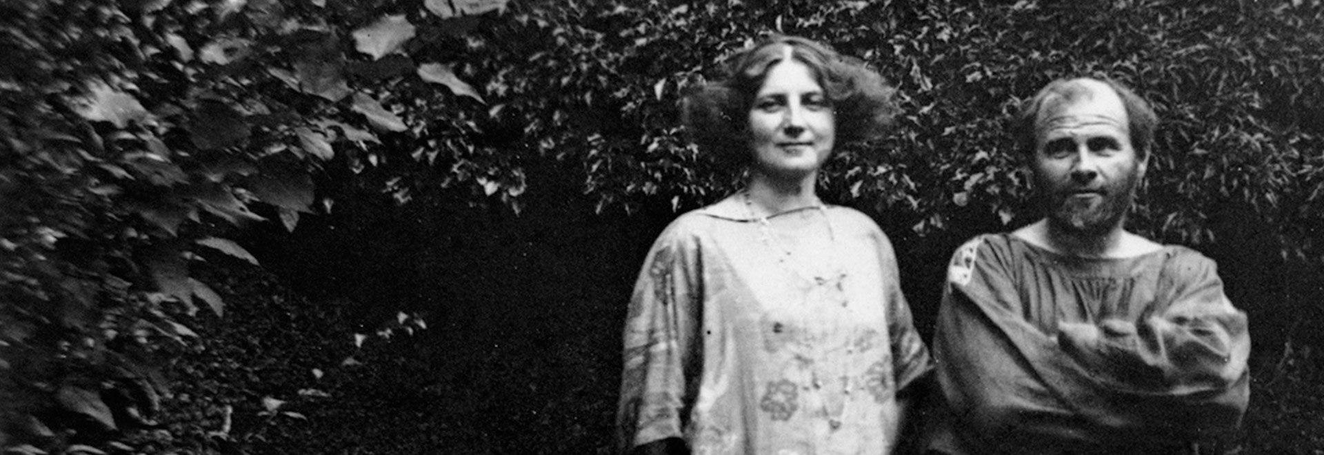 Emilie Floge e Gustav Klimt