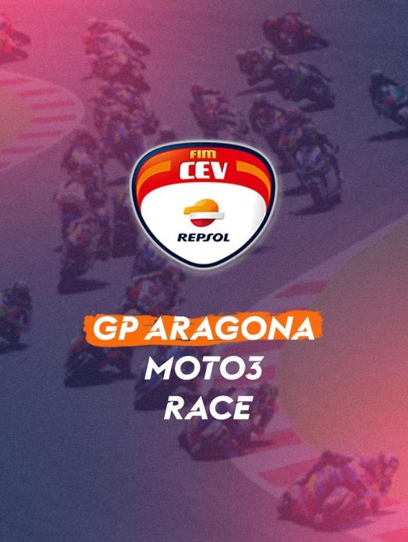 GP Aragona: Moto3. Race