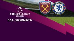 West Ham United - Chelsea. 33a g.