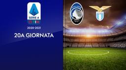 Atalanta - Lazio. 20a g.