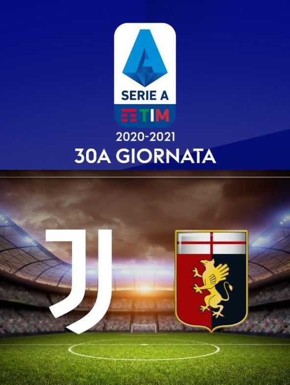 Juventus - Genoa. 30a g.