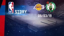 LA Lakers - Boston 09/03/19