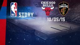 Chicago - Cleveland 10/05/15. Playoff Gara 4