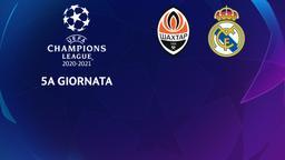 Shakhtar Donetsk - Real Madrid. 5a g.