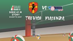 Scudetto 2007: Treviso - Piacenza