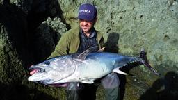 Spinning al tonno rosso da riva