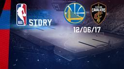 Golden State - Cleveland 12/06/17. Finale Gara 5