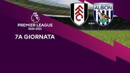 Fulham - West Bromwich Albion. 7a g.