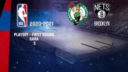 Boston - Brooklyn. Playoff - First Round. Gara 3