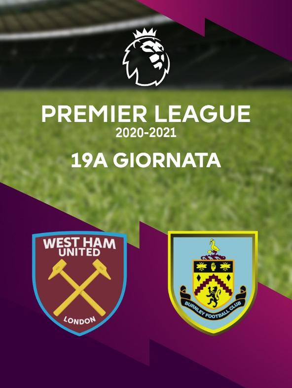 West Ham - Burnley   (diretta)