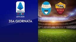 Spal - Roma. 35a g.