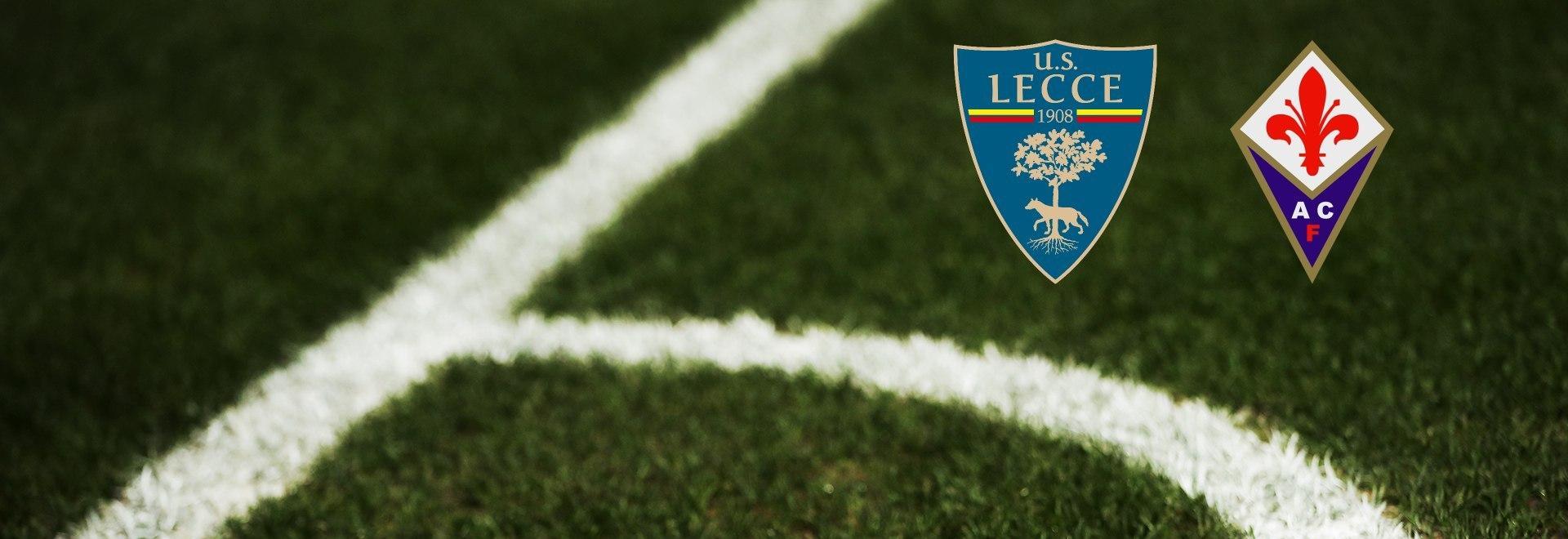 Lecce - Fiorentina. 33a g.