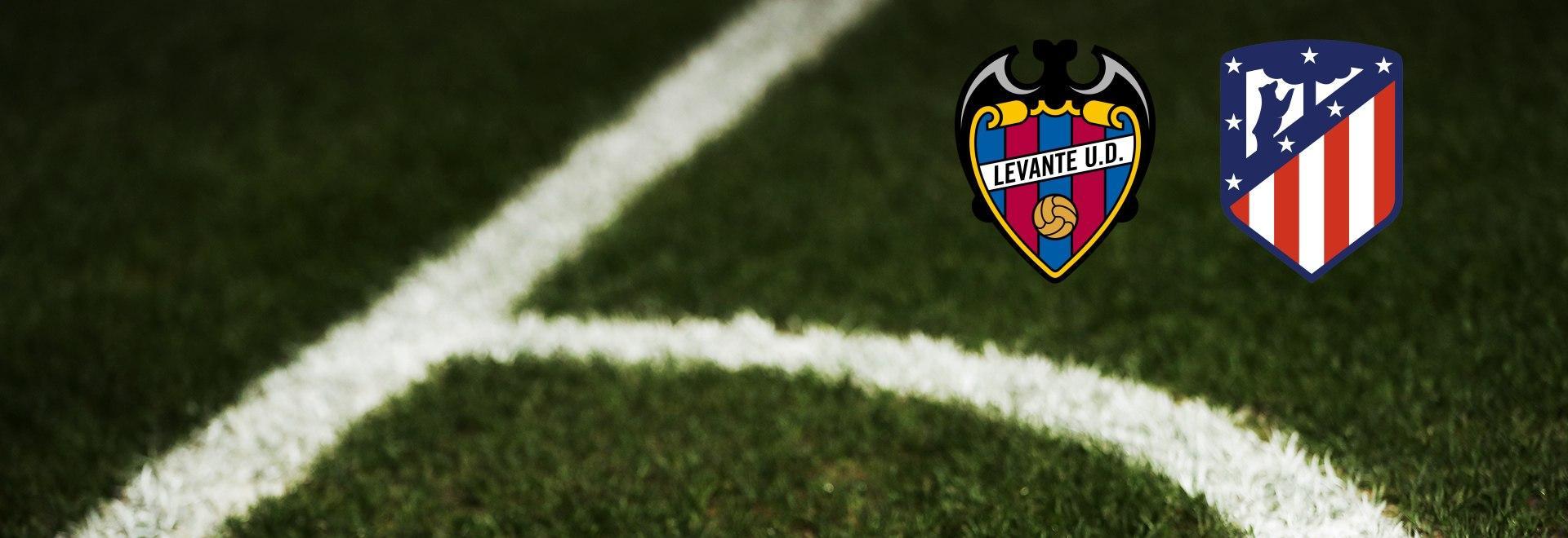 Levante - Atletico Madrid. 2a g.
