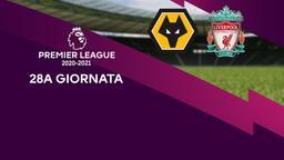 Wolverhampton - Liverpool. 28a g.