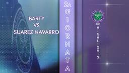 Barty - Suarez Navarro. 2a g.