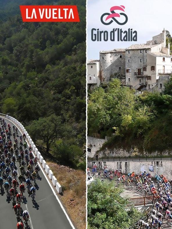 Ciclismo: Giro d'Italia - La Vuelta (... (diretta)