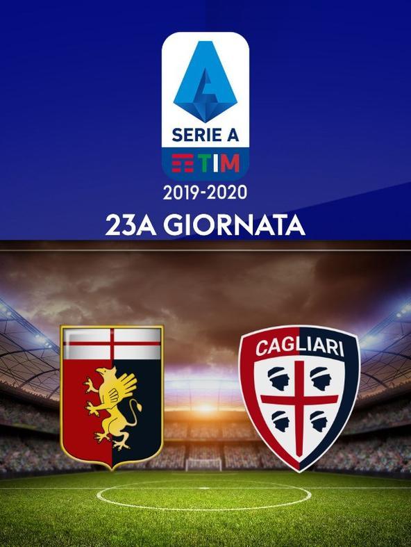 Genoa - Cagliari. 23a g.