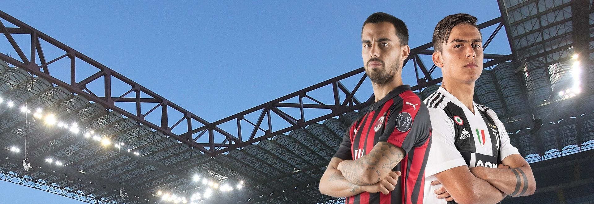Milan - Juventus. 12a g.
